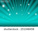 star burst  blue vector rays...