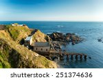 Lizard Point In Cornwall The...
