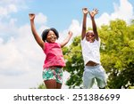 action portrait of young... | Shutterstock . vector #251386699