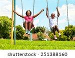 action portrait of shouting... | Shutterstock . vector #251388160