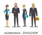 business people | Shutterstock .eps vector #251412109