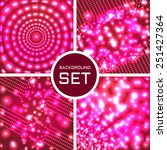 vector set of four color... | Shutterstock .eps vector #251427364