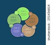 template for diagram  graph ... | Shutterstock .eps vector #251436814