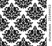 Classic Damask Floral Seamless...