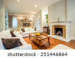 view of living room with... | Shutterstock . vector #251446864