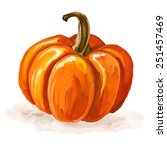 Pumpkin Vector Illustration ...