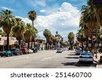 palm springs  california usa  ...   Shutterstock . vector #251460700