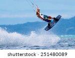boracay island  philippines  ... | Shutterstock . vector #251480089