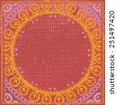 hand drawn   vintage ethnic...   Shutterstock .eps vector #251497420