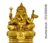 elephant   headed god monk... | Shutterstock . vector #251500048