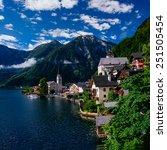 seaside villa. italy  | Shutterstock . vector #251505454