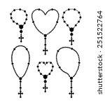 christianity design over white...   Shutterstock .eps vector #251522764