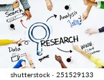 Group Of People With Research...
