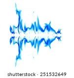 graphic light blue on a white... | Shutterstock . vector #251532649