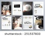 set of design templates for... | Shutterstock .eps vector #251537833