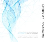 vector abstract technology...   Shutterstock .eps vector #251538334