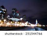 bokeh and blur of san francisco ... | Shutterstock . vector #251544766