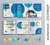 white brochure template design... | Shutterstock .eps vector #251548669