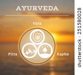 ayurveda vector illustration.... | Shutterstock .eps vector #251580028
