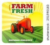 tractor | Shutterstock .eps vector #251590183