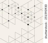 vector modern pattern. black... | Shutterstock .eps vector #251593930