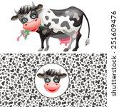 vector set   cartoon funny...   Shutterstock .eps vector #251609476