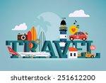 vector cool detailed flat... | Shutterstock .eps vector #251612200