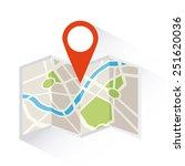 gps signals design  vector... | Shutterstock .eps vector #251620036