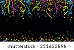 colors and joy at the carnival | Shutterstock .eps vector #251622898