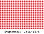 seamless checkered pattern. red ... | Shutterstock .eps vector #251641576