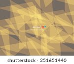 abstract illustration with... | Shutterstock .eps vector #251651440