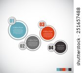 infographic templates for... | Shutterstock .eps vector #251657488