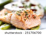 Fillet Of Salmon.