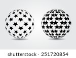 sphere vector template.sphere... | Shutterstock .eps vector #251720854