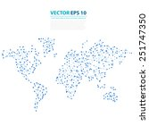 vector abstract... | Shutterstock .eps vector #251747350