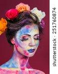 the creative  bright  color... | Shutterstock . vector #251760874