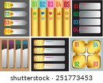colorful modern text box...   Shutterstock .eps vector #251773453