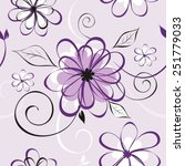 vector illustration of seamless ... | Shutterstock .eps vector #251779033