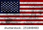 american national flag on an... | Shutterstock . vector #251848483