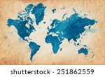Vector Illustrated Map Of The...