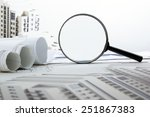 architectural blueprints and...   Shutterstock . vector #251867383