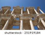 ephesus   ancient greek city of ...   Shutterstock . vector #251919184