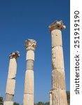 ephesus   ancient greek city of ...   Shutterstock . vector #251919190