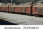 boxcars | Shutterstock . vector #251926813