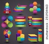 vector illustration of a set of ... | Shutterstock .eps vector #251934463