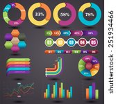 vector illustration of a set of ... | Shutterstock .eps vector #251934466