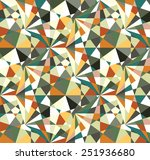 beautiful abstract pattern.... | Shutterstock .eps vector #251936680