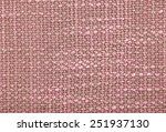 sackcloth textured background | Shutterstock . vector #251937130
