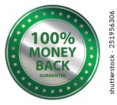 green circle metallic 100 ...   Shutterstock . vector #251956306