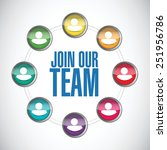 join our team people diagram... | Shutterstock .eps vector #251956786